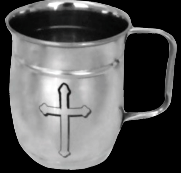Silver City Mugs|Medieval Maltese Cross| Beer Mug |Coffee-Beer Mug