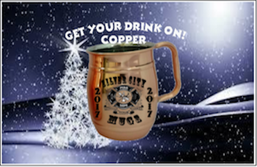 Get Your Drink On! With this Copper Mug Each mug comes with a one day free refill coupon redeemable at any event, fair, or festival you see us.